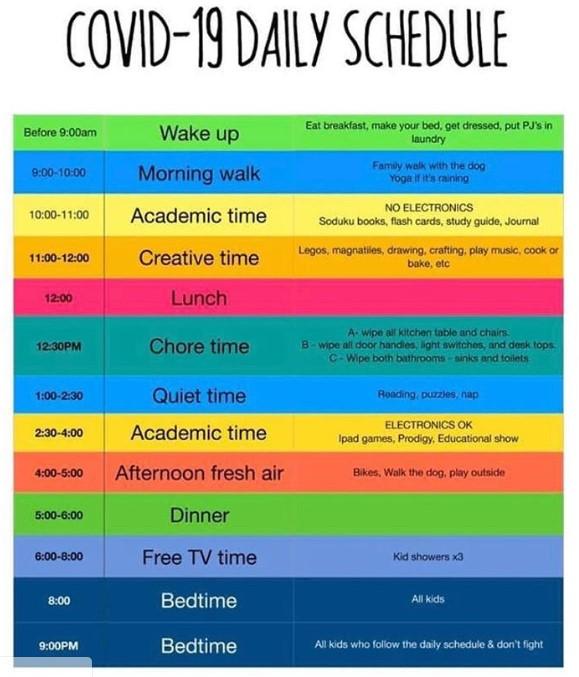 Covid19_Schedule