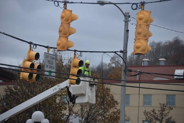 Midland Traffic Light Project