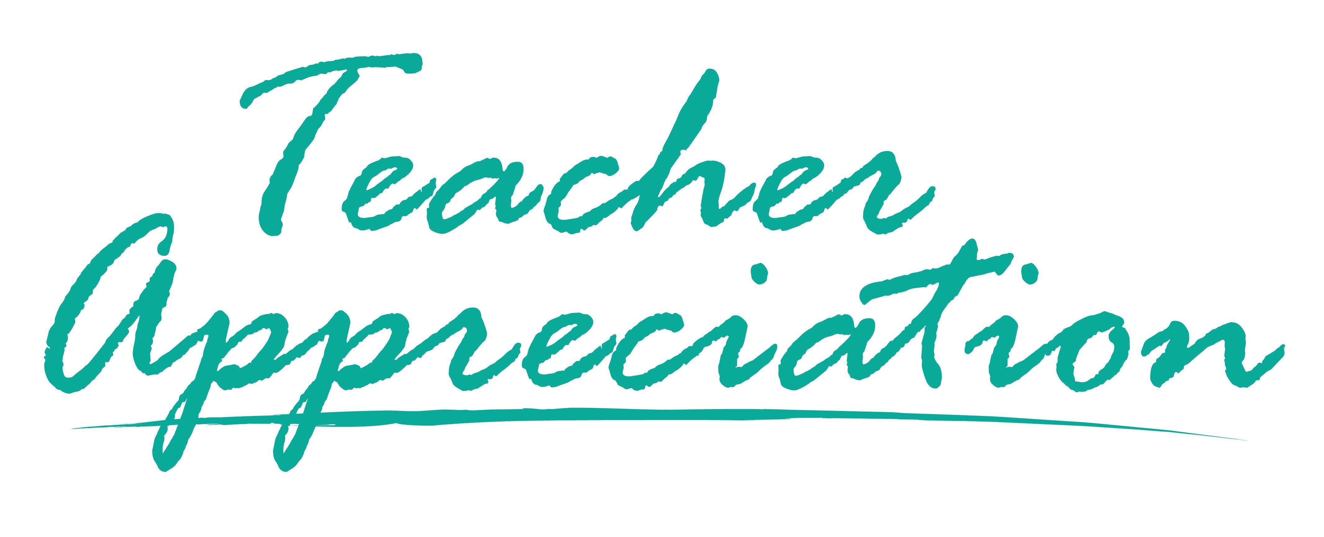 Teacher Appreciation stacked